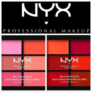 NYX Pro #Makeup Lip Cream Reds & Pinks 12 Colors